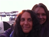 Sambhavya with Anne-Sophie